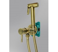 Гигиенический душ со смесителем BENITO AL-859-09 бронза
