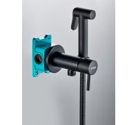 Гигиенический душ со смесителем BENITO AL-859-05  черный
