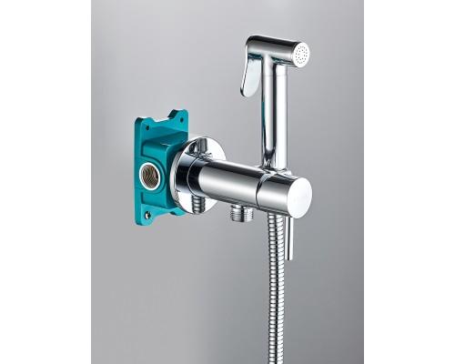 Гигиенический душ со смесителем BENITO AL-859-01  хром