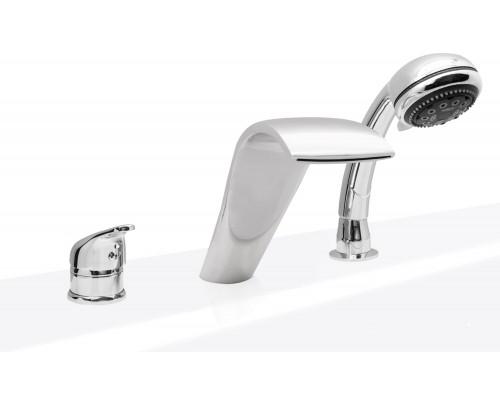 ASD смеситель на борт ванны GARDA (3 элемента)