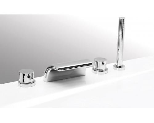 VEGA смеситель на борт ванны ONDA (4 элемента)