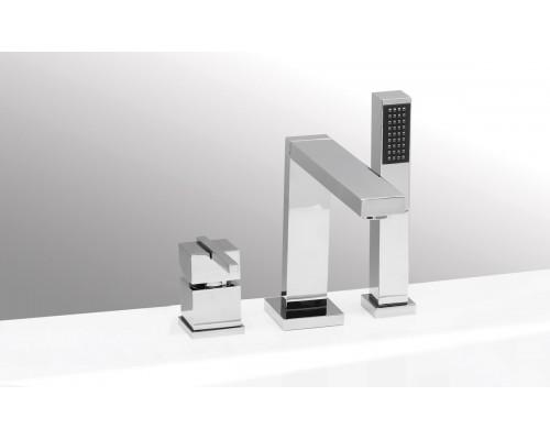 VEGA смеситель на борт ванны QUADRO (3 элемента)