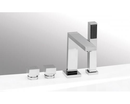 VEGA смеситель на борт ванны QUADRO (4 элемента)