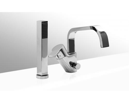 VEGA смеситель на борт ванны SQUARE(2 элемента)