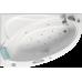 Акриловая ванна BellRado ГЛОРИЯ 1650х1100х655 правая