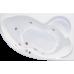 Акриловая ванна BellRado ИНДИГО 1600x1005х715 левая