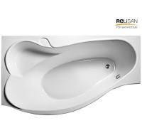 Акриловая ванна RELISAN Isabella 170x90 L