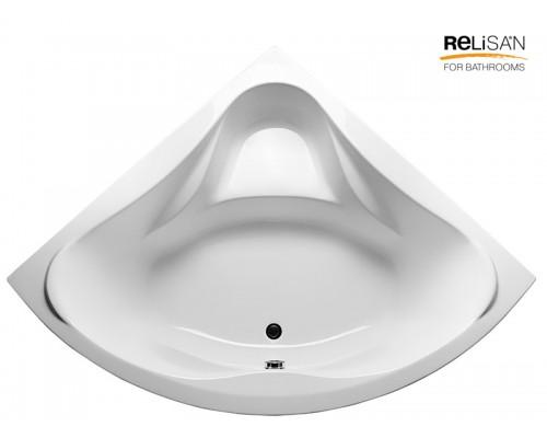 Акриловая ванна RELISAN Mira 135x135