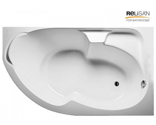 Акриловая ванна RELISAN Sofi 170х105 R