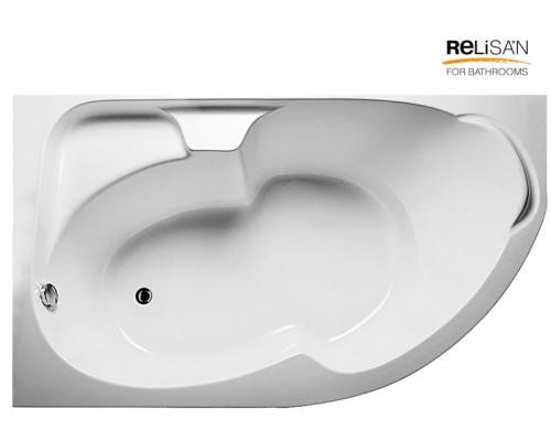 Акриловая ванна RELISAN Sofi 170х105 L