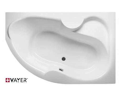 Акриловая ванна Vayer Azalia 150х105 R